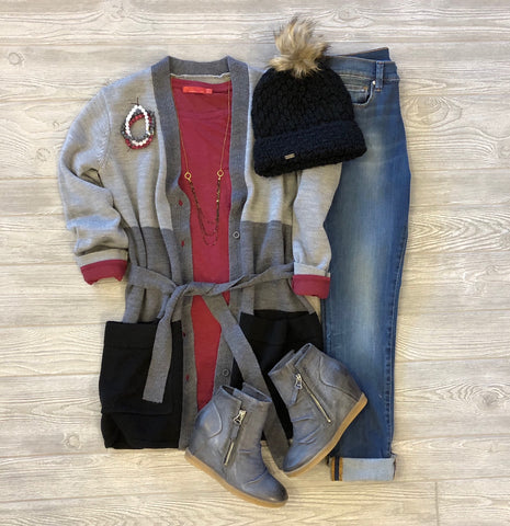 Holiday Inspired Cozy Outfits