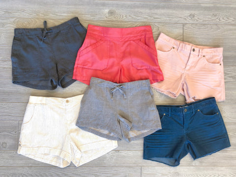 Summer Shorts, Travel Wear