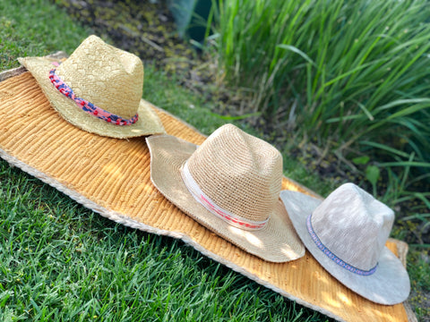 Summer Straw Sunhats, Beach Travel Hats for Women