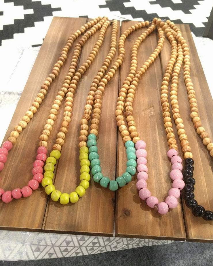 Alexis Beaded Necklace