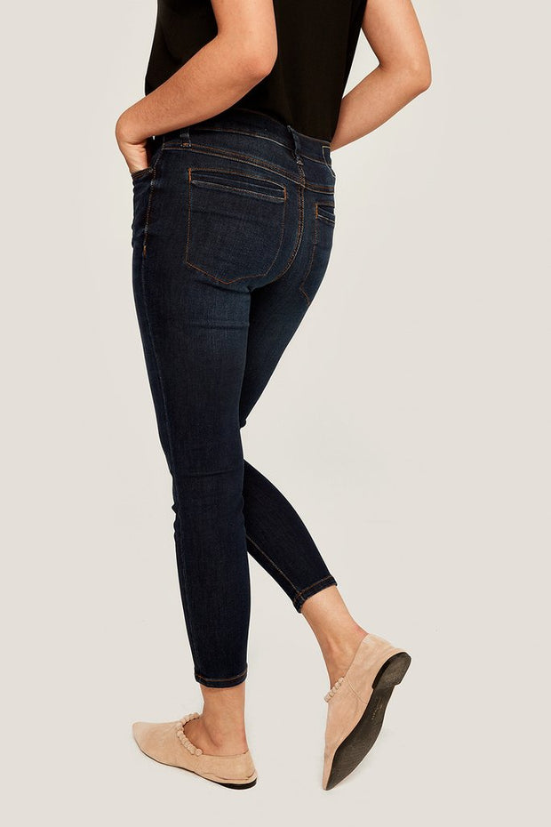 Dark Wash Skinny Ankle Jeans {Sale}