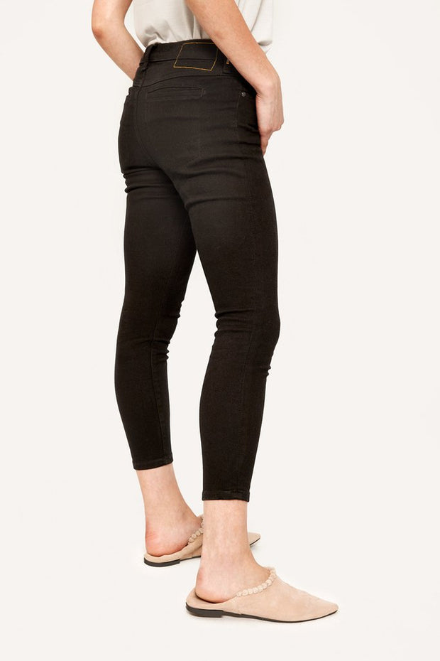 Jet Black Skinny Ankle Jeans {Sale}