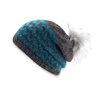 Static Slouch Beanie