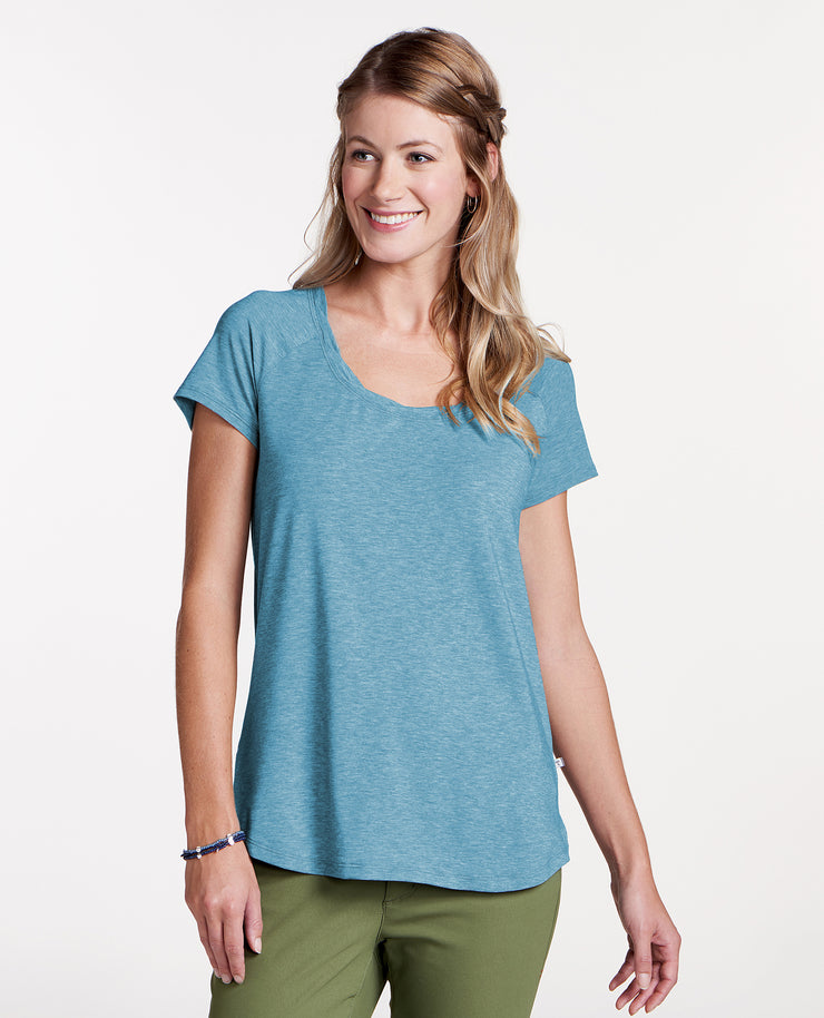 Swifty Scoop Neck Tee (Final Sale)