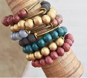 BelJoy Stacked Beaded Bracelets