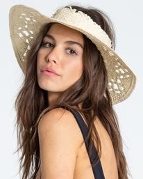 Billabong Feeling Tropical Straw Visor
