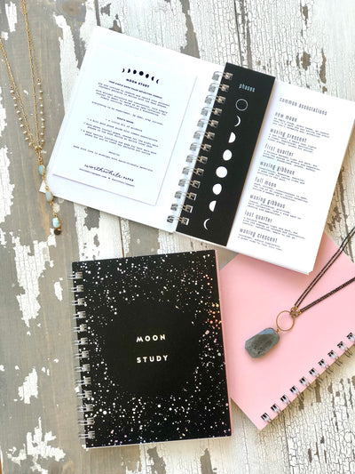 Moon Study Reflection Journal {Winter Sale}