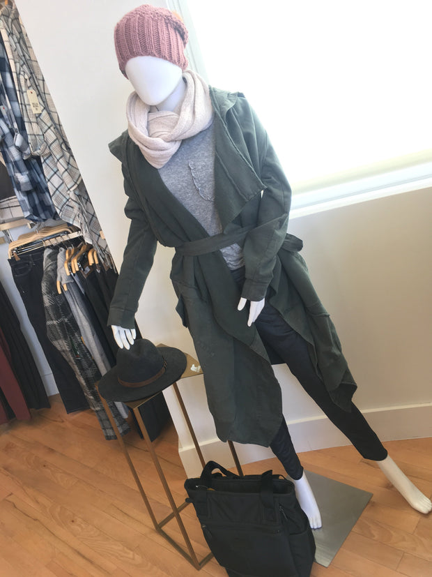 Urban Inspired Trench Jacket