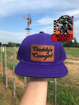 Daddy's Cowgirl Cap
