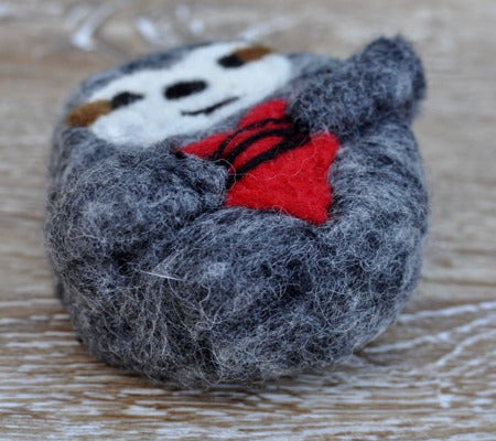 Sloth Felted Soap
