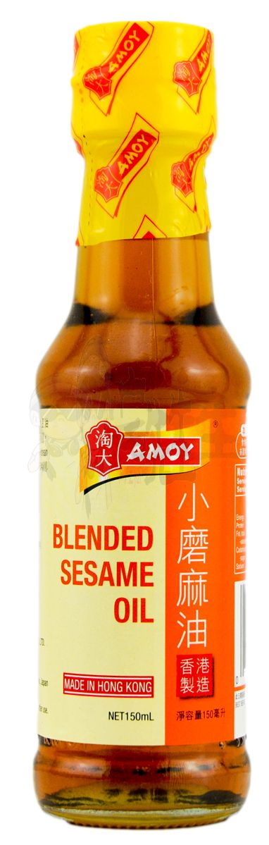 Amoy blended sesame oil 淘大小磨麻油150ml