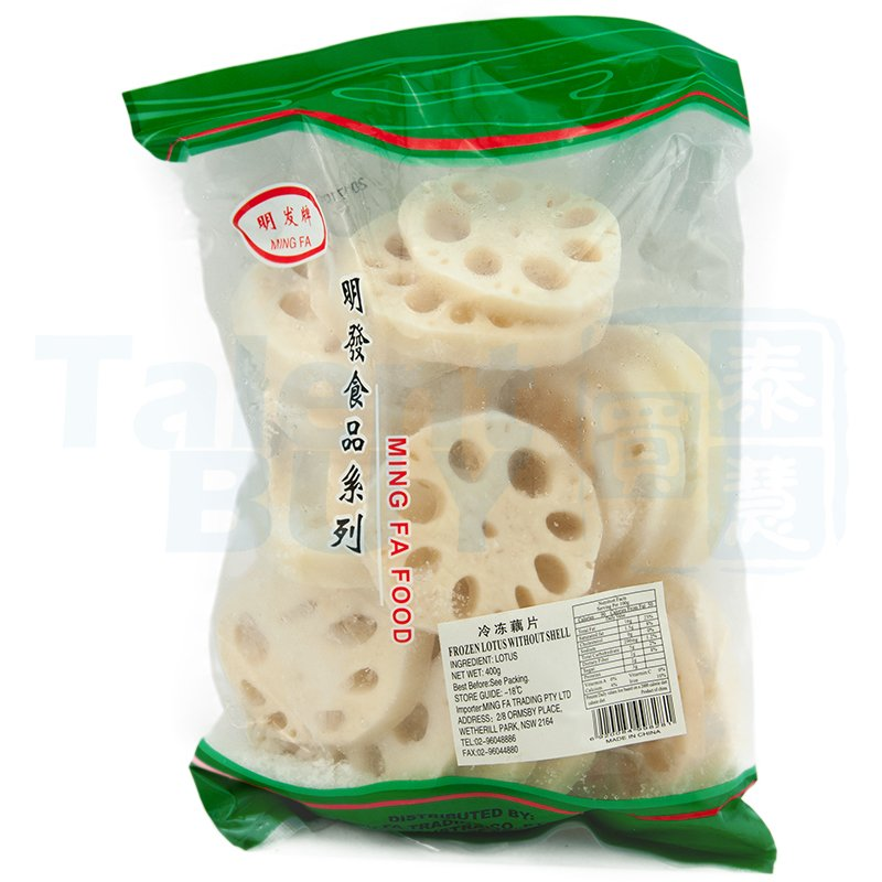 Ming Fa Frozen Lotus Root 明发速冻藕片 400g