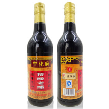 NingHuaFu Premium Matured Vinegar宁化府精酿老醋 500ml