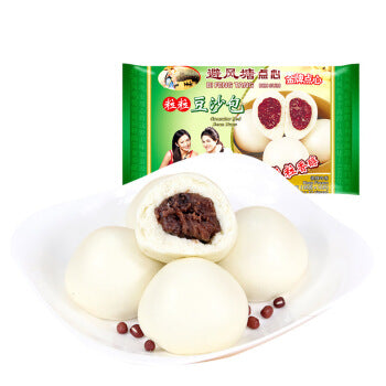 Bft Red Bean bun避风塘豆沙包 350g