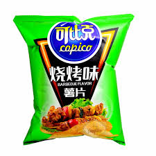 Copico Chips (BBQ Flavor) 可比克烧烤味薯片 60g