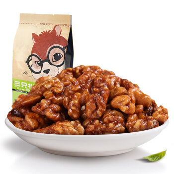 Three Squirrels Candied Walnut 三只松鼠 琥珀核桃仁 165g