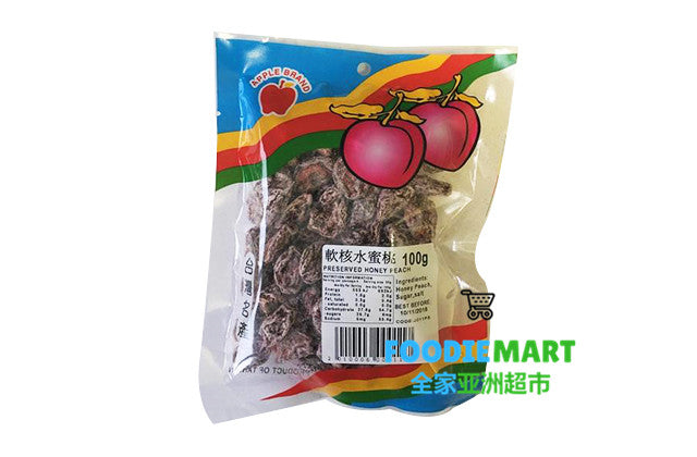 DRIED PEACH 软核水蜜桃 100G