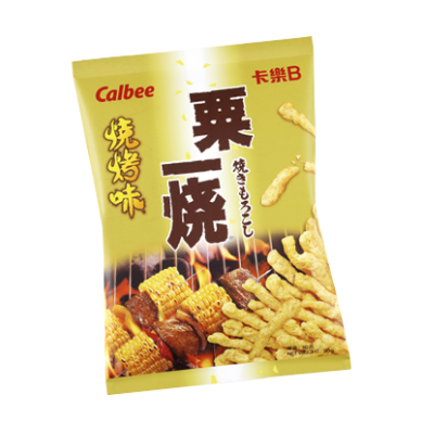 Calbee BBQ Flavoured Grill-A-Corn