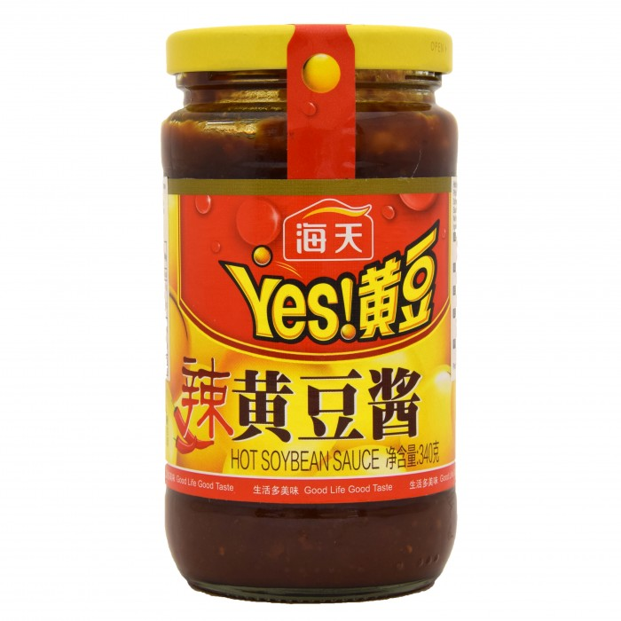 HADAY HOT SOYBEAN SAUCE 海天黄豆酱(辣)340G