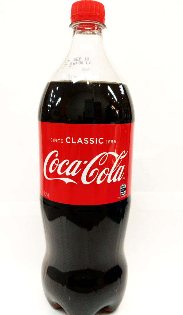 Coca Cola (Large bottle) 可口可乐 大瓶 1.25L