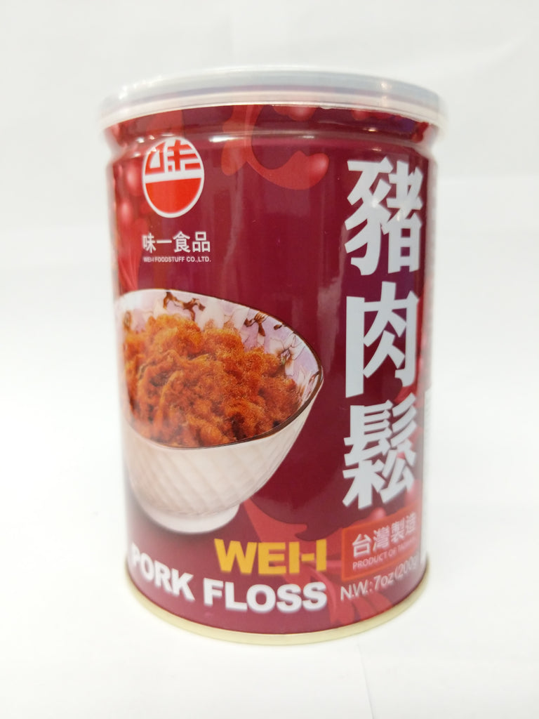 Wei-I Pork Floss (Original) 味一猪肉松原味 200g
