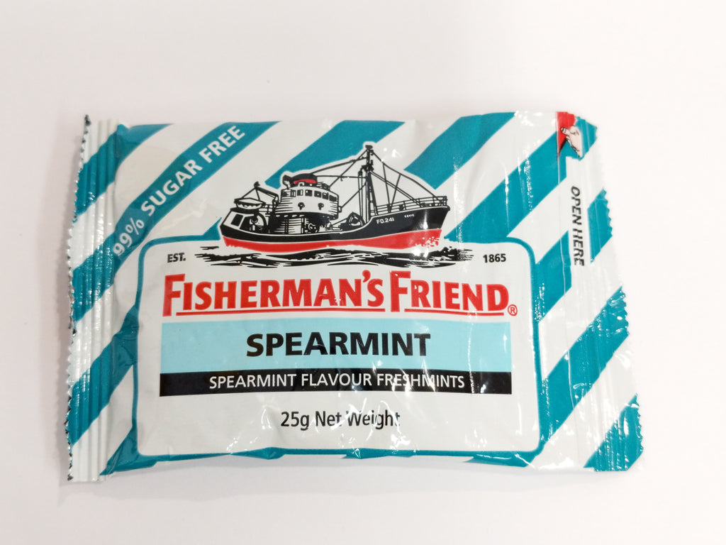 FISHERMANS FRIEND SPEARMINT LOZENGES