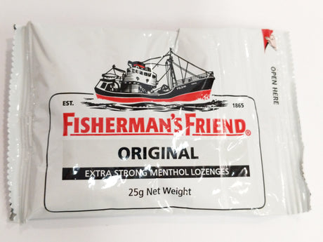 FISHERMANS FRIEND ORIGINAL EXTRA STRONG LOZENGES