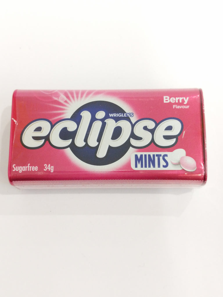 WRIGLEYS ECLIPSE BERRY MINTS