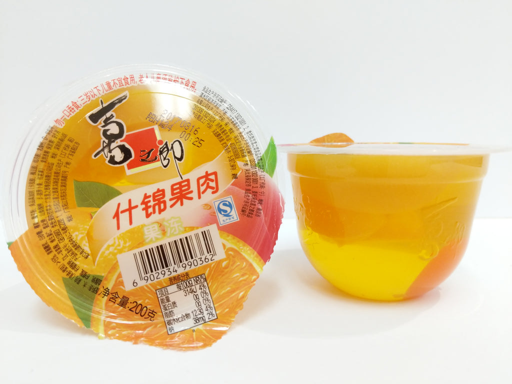 Cici Fruit Jelly Cup (Mixed Fruit) 喜之郎果肉果冻什锦 200g