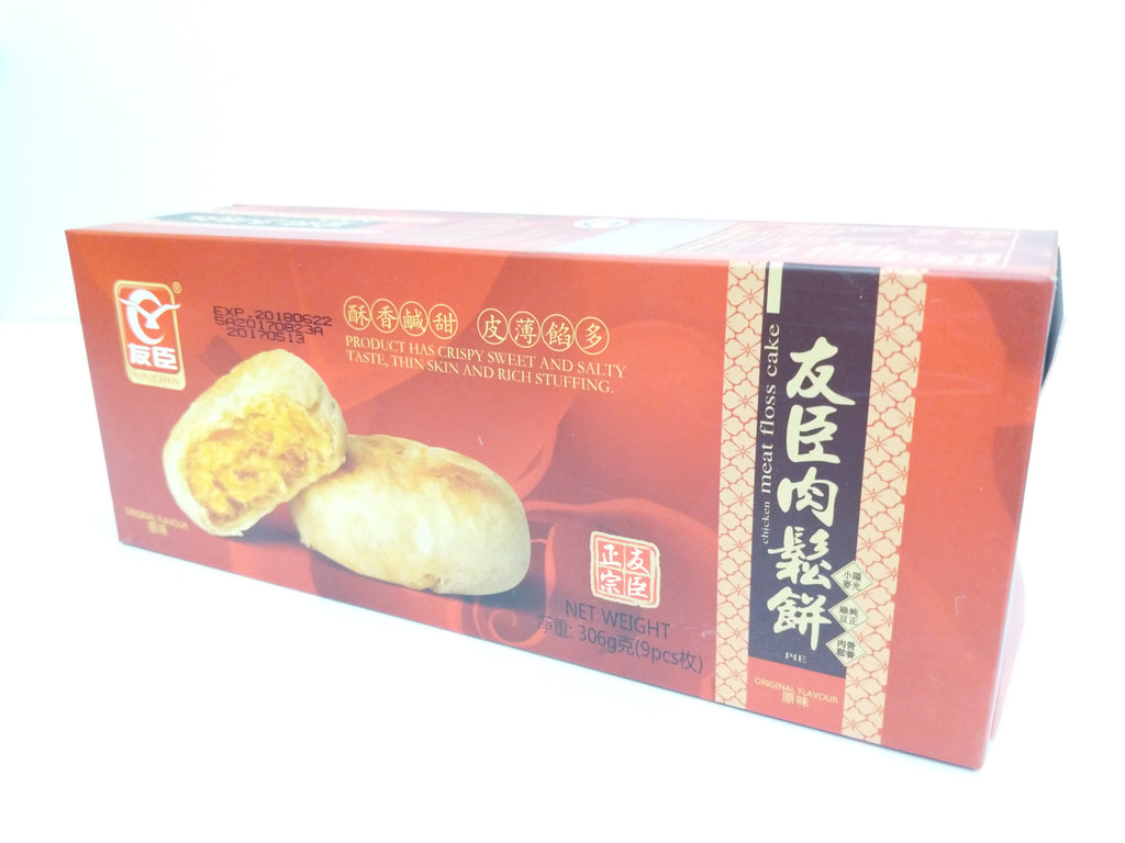Youchen Original Pork Floss Cake (Box) 友臣肉松饼盒装原味 306g
