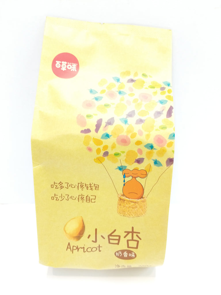 Be&Cherry Roasted Apricot 百草味 香小白杏 200g