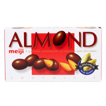 MEIJI Almond Chocolate 明治杏仁巧克力球 88g