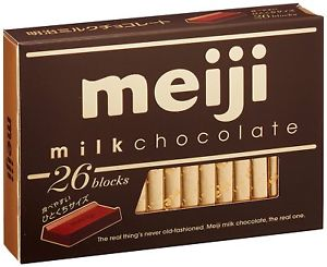 MEIJI Milk Chocolate 明治牛奶巧克力 120g