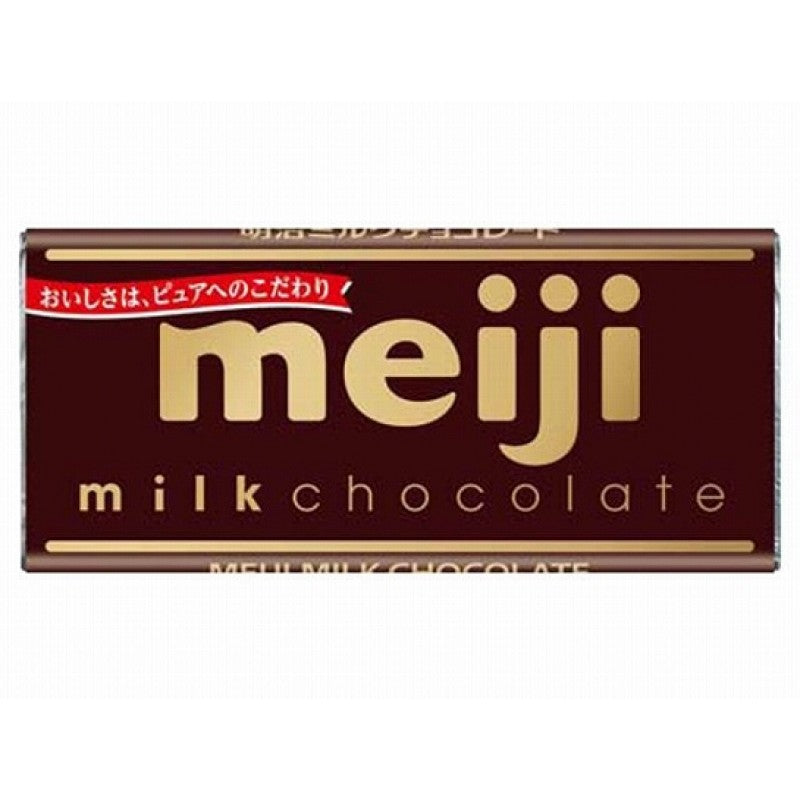 MEIJI Milk Chocolate 明治牛奶巧克力 50g