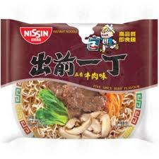 NISSIN BEEF NOODLE 100G 出前一丁 五香牛肉