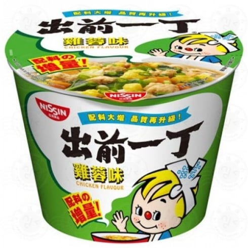 NISSIN BOWL NOODLE CHICKEN 出前一丁 杯面 鸡肉118G