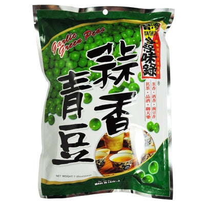Taiwan Rich Garlic Green Peas 寻味錄蒜香青豆 200g