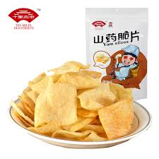 Ten Miles Old Streets Chinese Yam Chips (Barbeque) 十里古街山药脆片(烤肉) 120g
