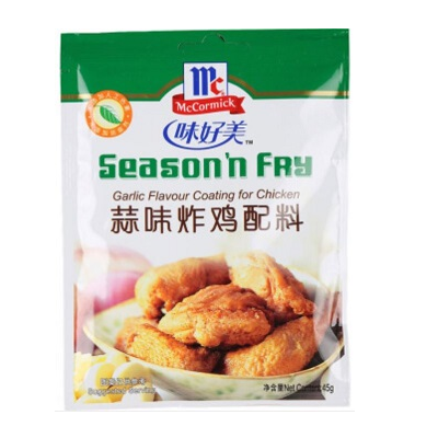 McCormick Season 'n Fry Garlic Flavoured Coating for Chicken
