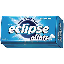 WRIGLEYS ECLIPSE SUGAR FREE PEPPERMINT MINTS