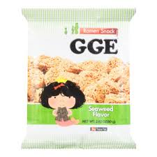 Wei Lih GGE Wheat Cracker (Seaweed) 张君雅小妹妹海苔口味脆面 80g