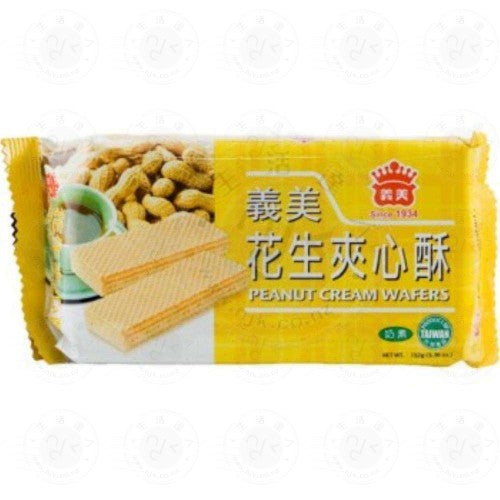 I MEI PEANUT CREAM WAFERS 义美花生夹心酥 200G