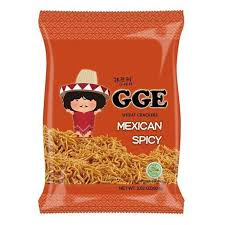 Wei Lih GGE Wheat Cracker (Mexican Spicy) 张君雅小妹妹墨西哥辣酱脆面 80g
