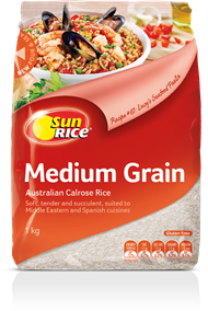 Sunrice Calrose Medium Grain Rice Sun中长米 1kg