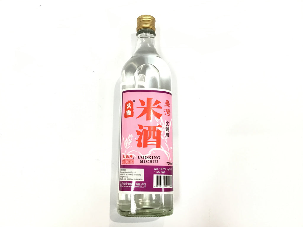 Taiwanese Cooking Wine 全久荣台湾米酒 750ml