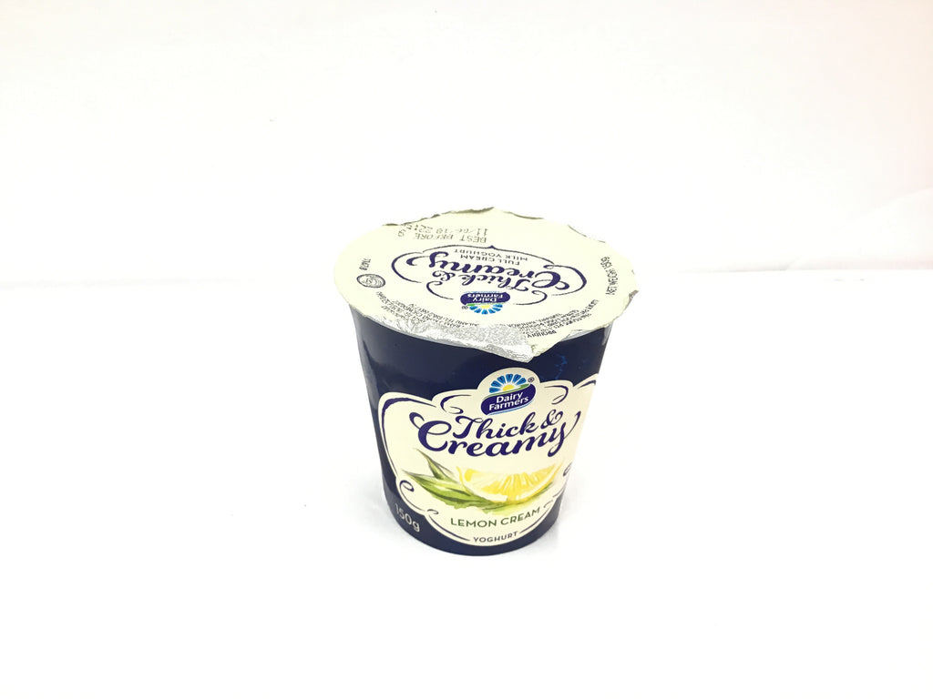 DF Thick & Creamy Full Fat Yoghurt LEMON CREAM 150G