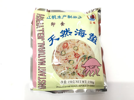 INST JELLY FISH-NATURAL 江帆即时海蜇 150G
