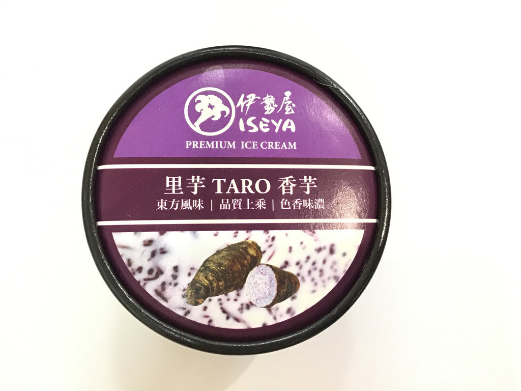 ISEYA ICE CREAM TARO 伊势屋冰淇淋 香芋 150ML