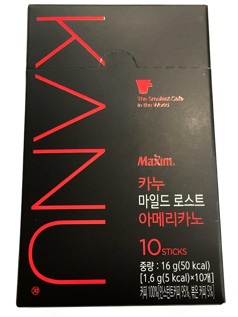 Dong suh instant coffee- mild coffee 黑咖啡 10入