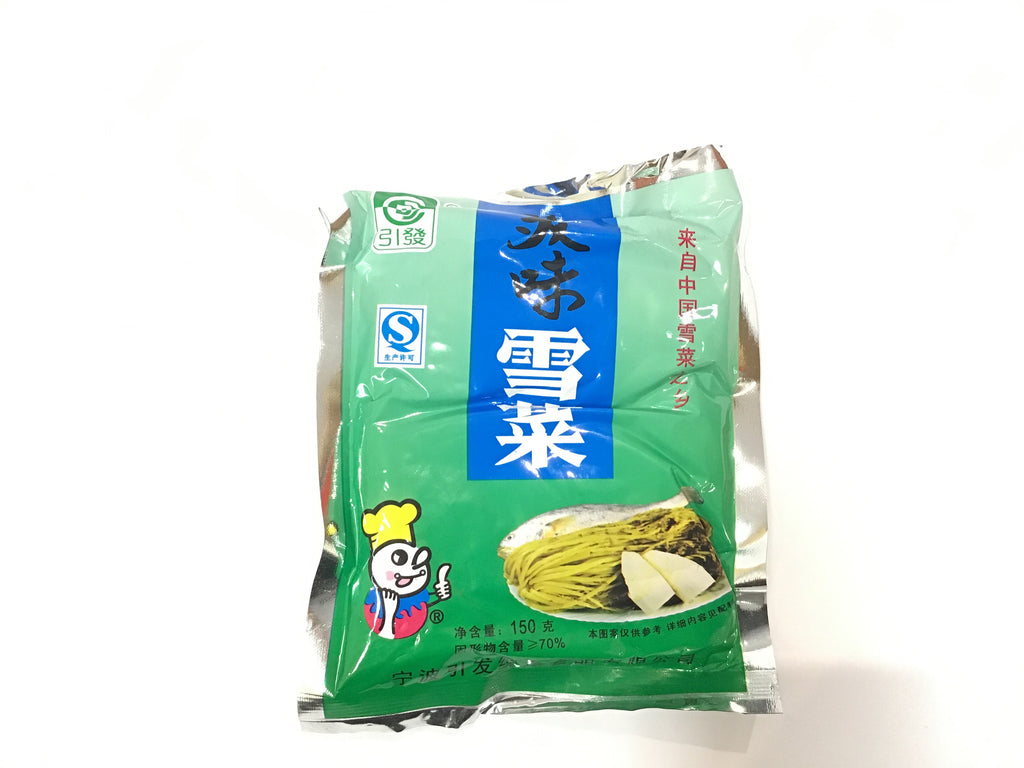 YIN FA PICKLED CABBAGE 150G 美味雪菜